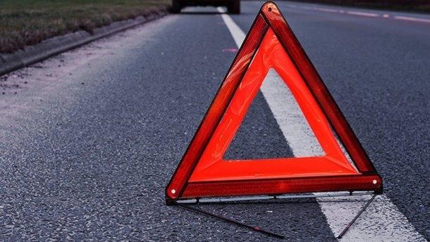 В Запорожской области в результате ДТП автомобиль вылетел на тротуар (ВИДЕО) Фото № 0