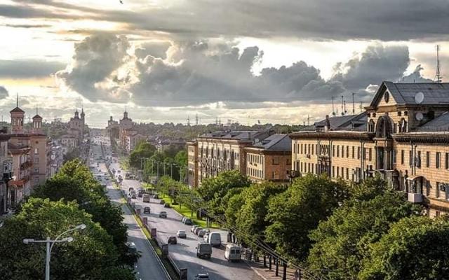 Альтернативный взгляд: Запорожцев порадовали новыми уникальными снимками города Фото № 9