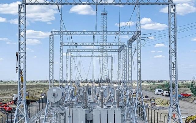 В Запорожской области завершили монтаж последней ветровой турбины (ФОТО) Фото № 1