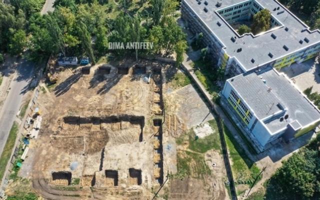 Красивые фото с высоты: Строительство бассейна в Мелитополе Фото № 2