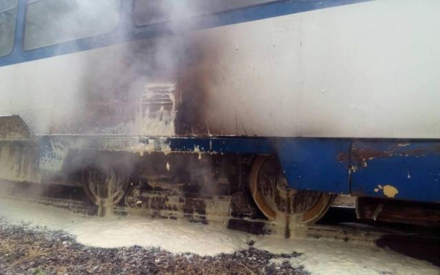 В Запорожье снова горят трамваи (ФОТО) Фото № 2