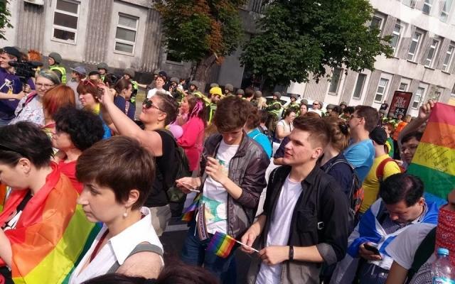 "Запорожцы приехали в Киев на ""Марш равенства"""