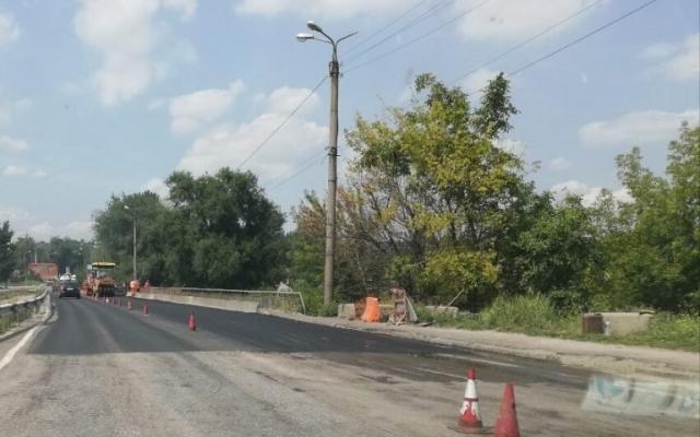 В Запорожье ремонтируют проезд через р. Мокрая Московка (ВИДЕО) Фото № 0