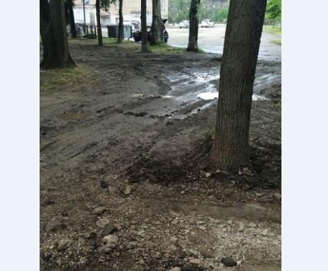 На Кичкасе разрушили парк (ФОТО) Фото № 2