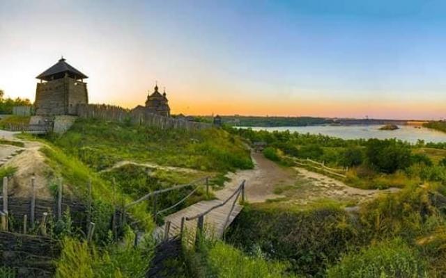 Альтернативный взгляд: Запорожцев порадовали новыми уникальными снимками города Фото № 0