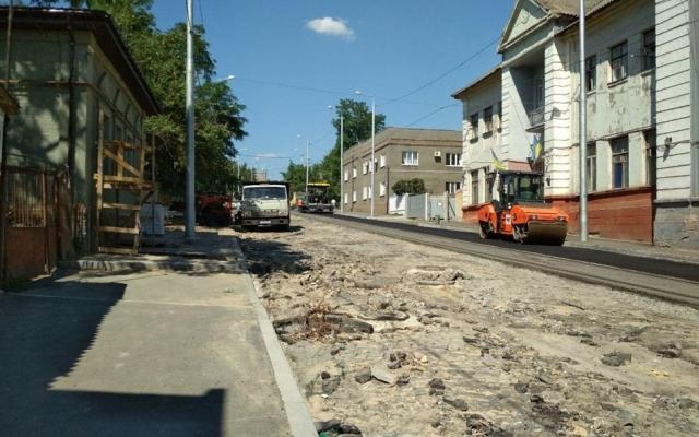 В Александровском районе перекрыли улицу Фото № 0