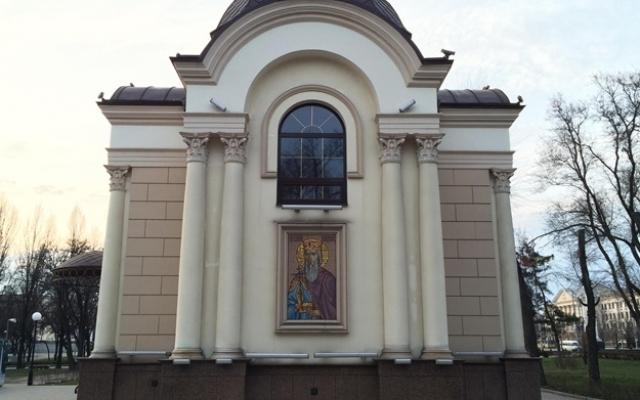 В Запорожье неизвестные нарисовали фашистские знаки на храме УПЦ (ФОТО) Фото № 1