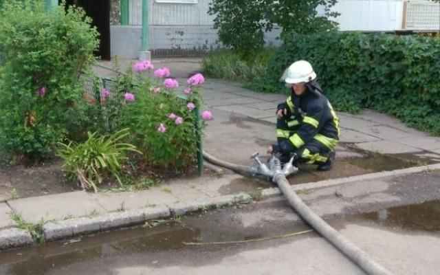 Запорожанка, которую спасли на пожаре, умерла в больнице (ФОТО) Фото № 0