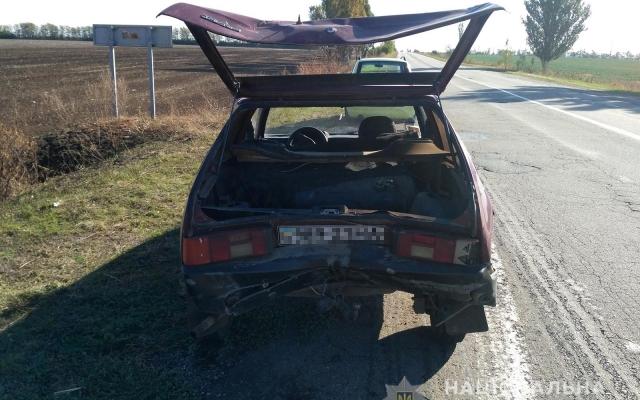 ДТП в Запорожской области: «Nissan Rogue» догнал «ЗАЗ-1102» (ФОТО) Фото № 1
