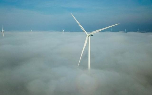 В Запорожской области завершили монтаж последней ветровой турбины (ФОТО) Фото № 3