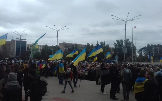 Участники запорожского Майдана приняли резолюцию с обращением к властям Фото № 0