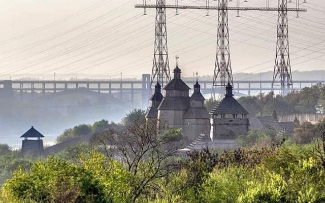Альтернативный взгляд: Запорожцев порадовали новыми уникальными снимками города Фото № 1