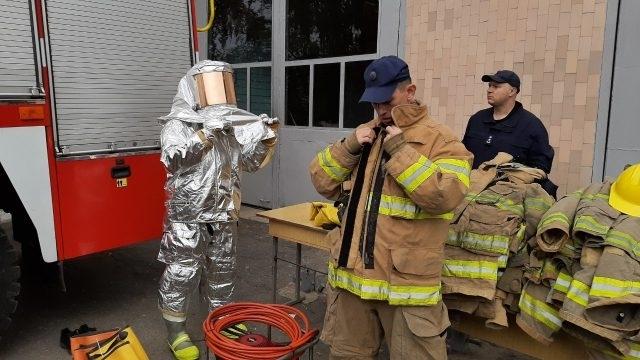 Мелитопольские спасатели получили материальную помощь Фото № 0