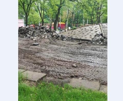 На Кичкасе разрушили парк (ФОТО) Фото № 6