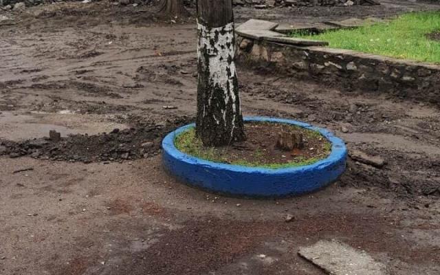 На Кичкасе разрушили парк (ФОТО) Фото № 7