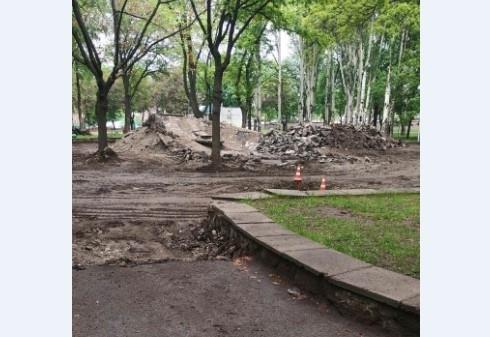 На Кичкасе разрушили парк (ФОТО) Фото № 4