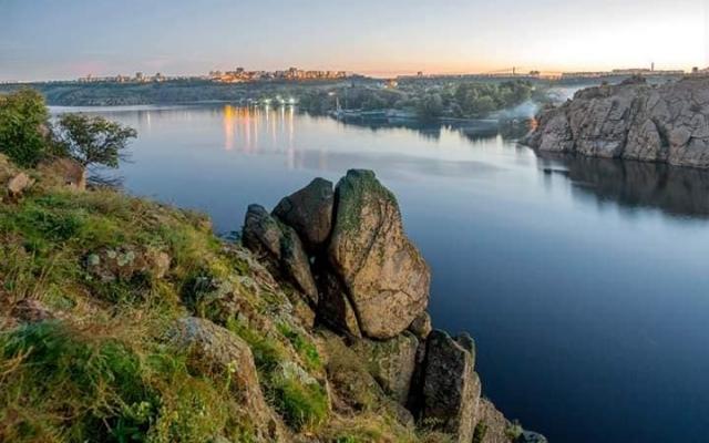 Альтернативный взгляд: Запорожцев порадовали новыми уникальными снимками города Фото № 4