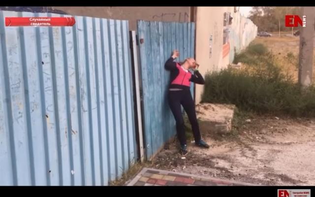 В Запорожской области на улице пытались привести в чувство девушку (ВИДЕО) Фото № 0