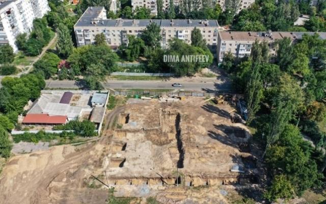 Красивые фото с высоты: Строительство бассейна в Мелитополе Фото № 1