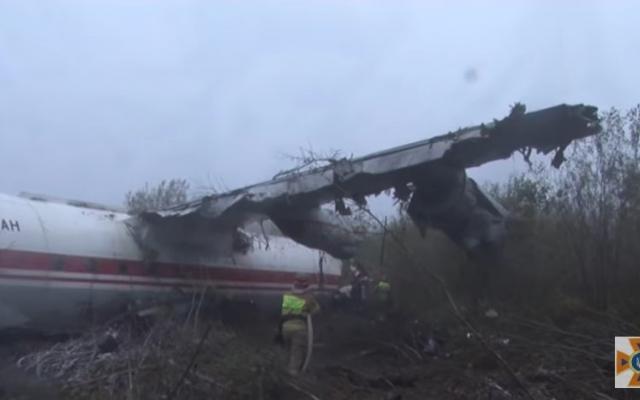 В авиакатастрофе под Львовом выжил запорожский бортинженер (ВИДЕО) Фото № 1