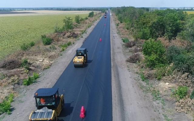 Верховная рада выделила миллиард на ремонт дороги Запорожье-Мариуполь Фото № 0