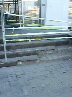 Запорожцы обсуждают увиденную возле супермаркета картину (ФОТО) Фото № 0