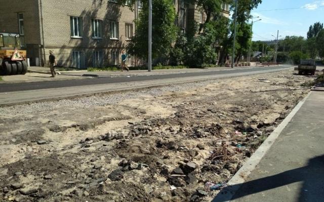 В Александровском районе перекрыли улицу Фото № 1