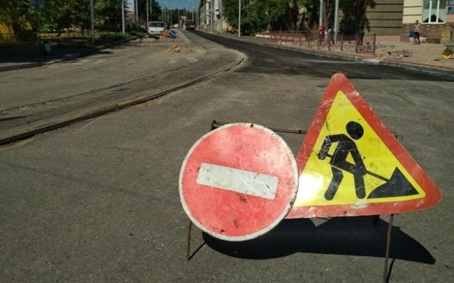 В Александровском районе перекрыли улицу Фото № 3