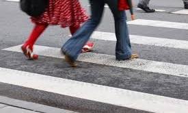 Запорожец без прав въехал в толпу пешеходов