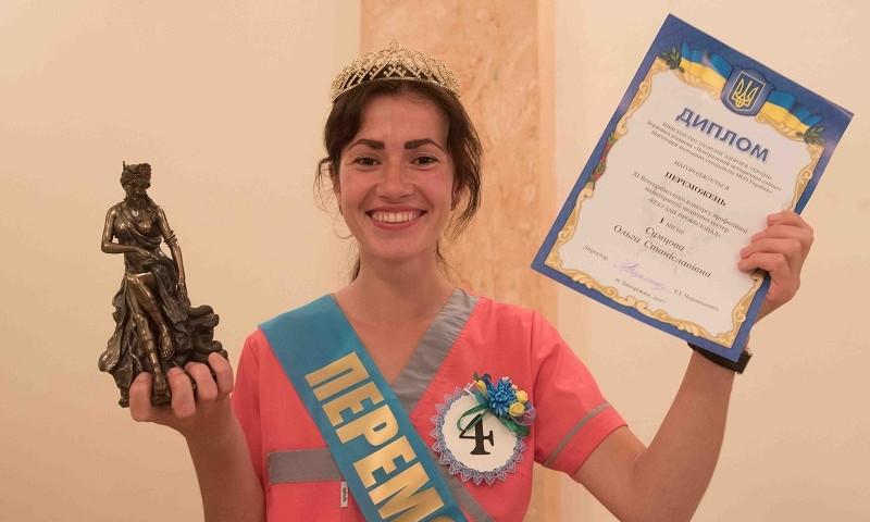 В Запорожье выбрали лучшую медсестру Украины