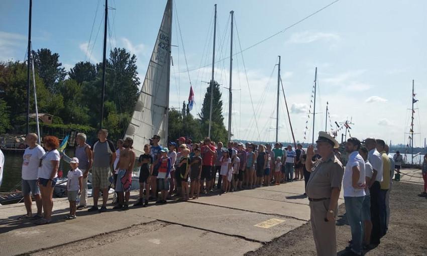 В Запорожье проходит фестиваль водных видов спорта