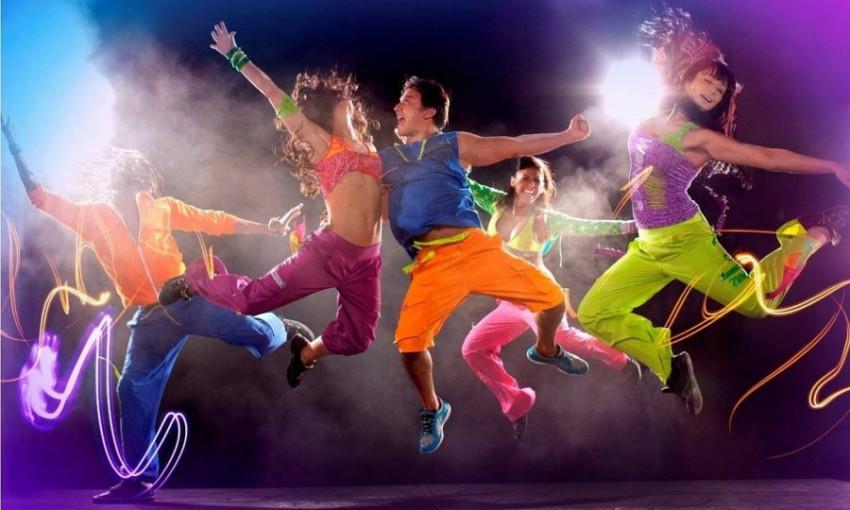 Появилось видео конкурса по спортивным танцам в Запорожье