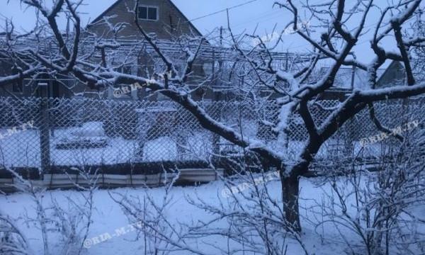 В Запорожской области весна выдалась снежной (ФОТО)