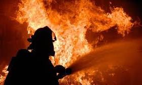 Пожар в Хортицком районе: Бойцы ГСЧС спасли двух человек