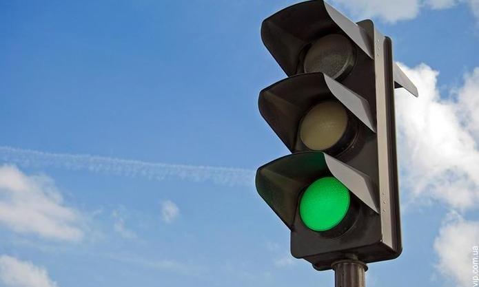 В центре Запорожья одновременно выключились все светофоры