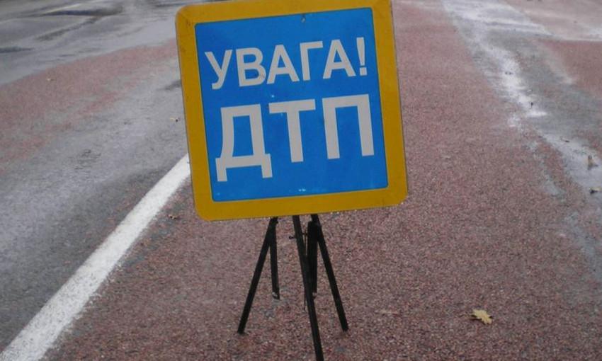 В Бердянске не разъехались скутер и Фиат