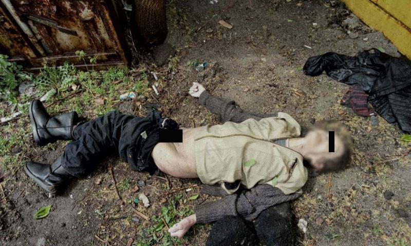 Смотрите: фото найденного трупа в Запорожье